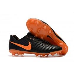 Scarpe da Calcio Nike Tiempo Legend VII FG ACC - Nero Arancio