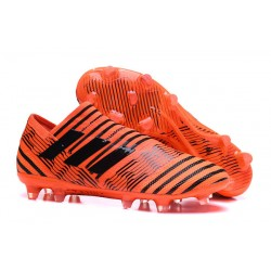 Adidas Nemeziz Messi 17 + 360 Agility FG Scarpe da Calcio - Arancio Nero