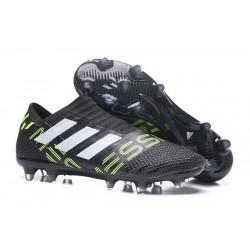 Adidas Nemeziz Messi 17 + 360 Agility FG Scarpe - Nero Bianco