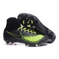 Nike Scarpa Magista Obra 2 FG ACC Uomo - Nero Verde
