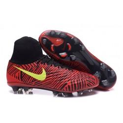 Nike Scarpa Magista Obra 2 FG ACC Uomo - Rosso Giallo