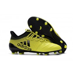 Adidas Scarpe Calcio X 17.1 FG Techfit - Giallo Nero