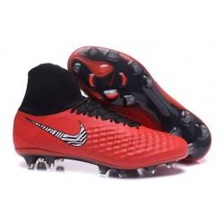 Nike Nuove Magista Obra II FG Scarpini da Calcio - Rosso
