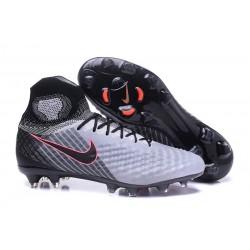 Nike Nuove Magista Obra II FG Scarpini da Calcio - Grigio