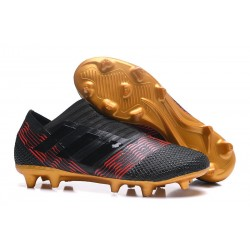 Adidas Nemeziz Messi 17 + 360 Agility FG - Nero Oro Rosso