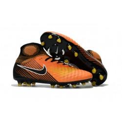 Nike Magista Obra 2 FG Scarpe da Calcetto - Arancio Nero