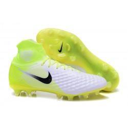 Nike Magista Obra 2 FG Scarpe da Calcetto - Bianco Nero