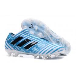 Adidas Nemeziz Messi 17 + 360 Agility FG - Bianco Blu Nero
