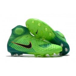 Nike Magista Obra II Dynamic Fit FG Scarpa - Verde Nero