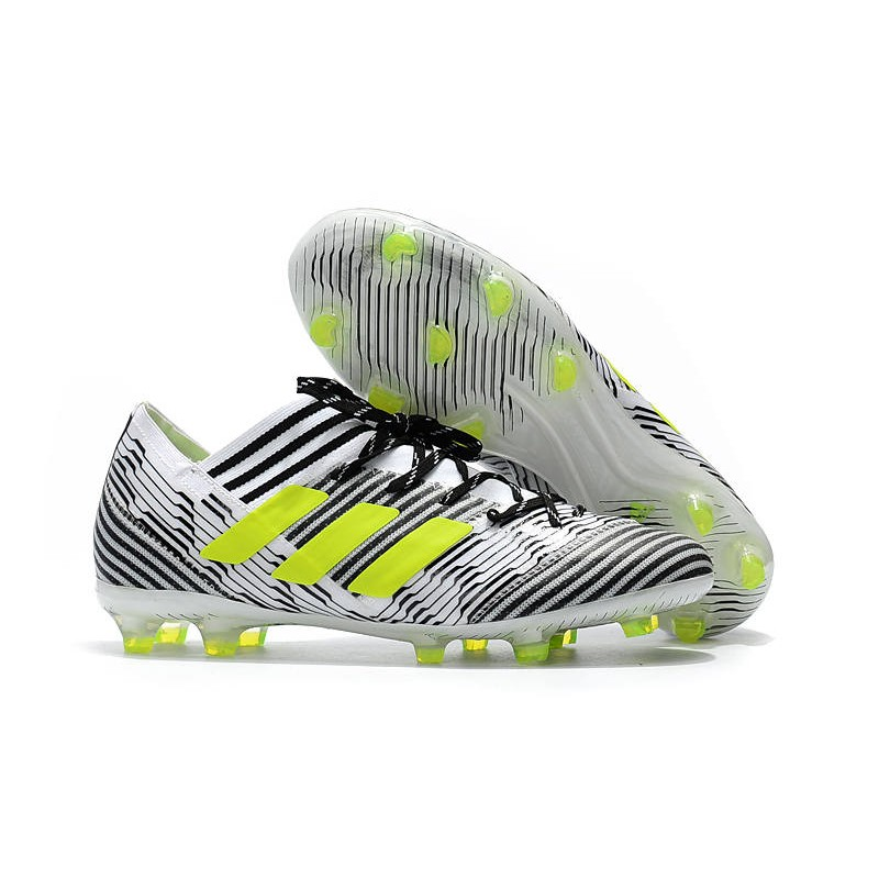adidas Nemeziz Messi 17.1 FG Scarpe da Calcio Bianco Nero