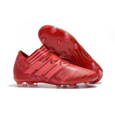 adidas Nemeziz Messi 17.1 FG Scarpe da Calcio Rosso