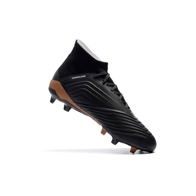 pretty nice 7c048 6b42e adidas Predator 18.1 FG Scarpe da Calcio - Nero Bianco Oro