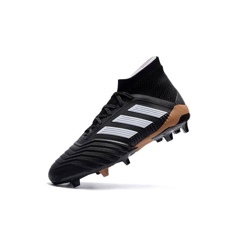 Oro Bianco Calcio Predator Fg Da Scarpe Nero Adidas 18 1 kXiZOuP