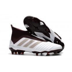 Scarpe Calcio Adidas Predator 18+ FG - Bianco Marrone