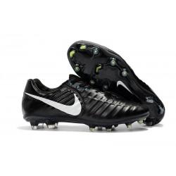 Scarpe da Calcio Nike Tiempo Legend VII FG ACC - Nero Bianco
