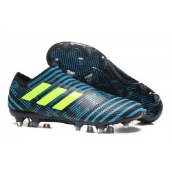 Leo Messi Scarpa Adidas Nemeziz 17 + 360 Agility FG -Blu Giallo