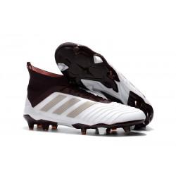adidas Predator 18.1 FG Scarpe da Calcio - Bianco Marrone