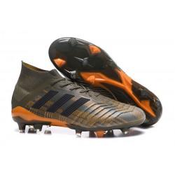 adidas Predator 18.1 FG Scarpe da Calcio - Verde Nero Naranja