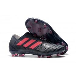 Leo Messi Scarpa Adidas Nemeziz 17 + 360 Agility FG - Nero Rosa