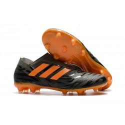Scarpe Nuovo Adidas Nemeziz 17 + 360 Agility FG - Nero Arancio