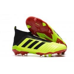 Scarpe Calcio Adidas Predator 18+ FG - Giallo Nero