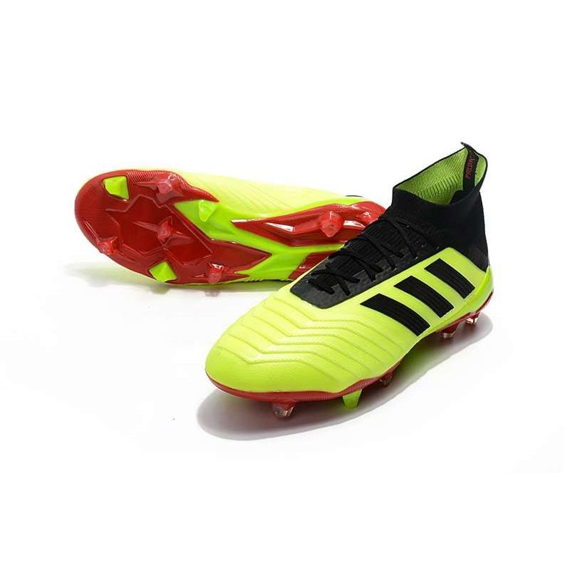 adidas Predator 18.1 FG Scarpe da Calcio Giallo Nero