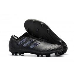 Leo Messi Scarpa Adidas Nemeziz 17 + 360 Agility FG -Tutto Nero
