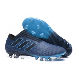 Leo Messi Scarpa Adidas Nemeziz 17 + 360 Agility FG -Blu Scuro Nero