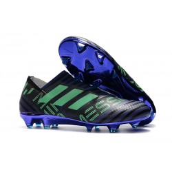 Scarpe Nuovo Adidas Nemeziz 17 + 360 Agility FG - Nero Viola Verde