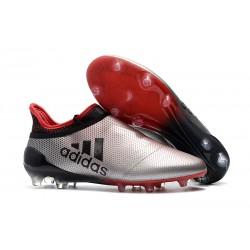 adidas X 17+ Purespeed FG Scarpa Uomo - Argento Rosso