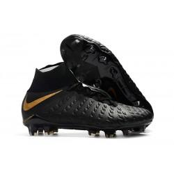 Nike Nuove Hypervenom Phantom III FG Neymar Scarpe Da Calcetto - Nero Oro