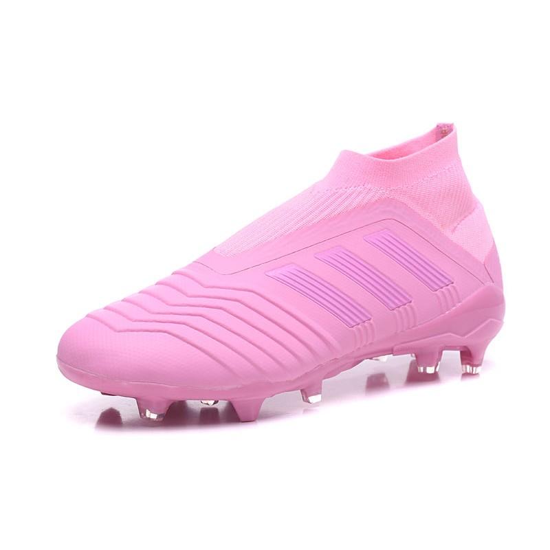 Adidas Predator 18+ FG Scarpa da Calcio Rosa