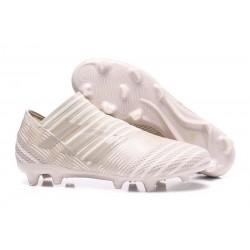 Leo Messi Scarpa Adidas Nemeziz 17 + 360 Agility FG -Sabbioso Bianco