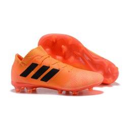 Coppa del Mondo Scarpa adidas Nemeziz 18.1 FG - Arancio Nero