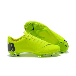 Scarpe Coppa del Mondo 2018 Nike Mercurial Vapor XII FG - Verde Nero
