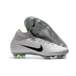 Nike Scarpe Mercurial Superfly 6 360 Elite FG - Metallico Nero