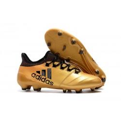 Adidas Scarpe Calcio X 17.1 FG Techfit - Oro Nero