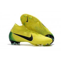 Nike Mercurial Superfly VI DF Elite FG 2018 Coppa del Mondo - Giallo Nero