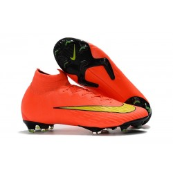 Nike Mercurial Superfly VI DF Elite FG 2018 Coppa del Mondo - Arancio Giallo