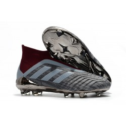 Paul Pogba adidas PP Predator 18+ FG Scarpa da Calcio Gris Rosso