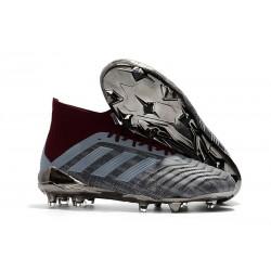 Paul Pogba adidas PP Predator 18.1 FG Scarpa Gris Rosso