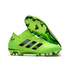 Coppa del Mondo Scarpa adidas Nemeziz 18.1 FG - Verde Nero
