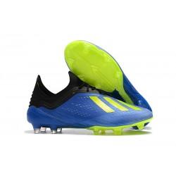 adidas X 18.1 FG Scarpa da Calcio - Blu Verde