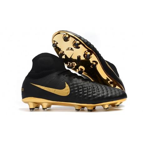 5a995de9c Nike Scarpe da Calcio Magista Obra II DF FG - Nero Oro