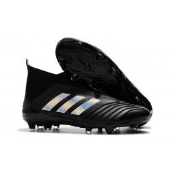 Adidas Predator 18+ FG Scarpa da Calcio Nero Argento