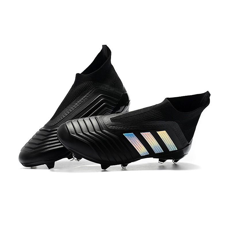 Predator Adidas Bivgyf7y6 Calcio Da Nero 18fg Scarpa Argento KlcF1J