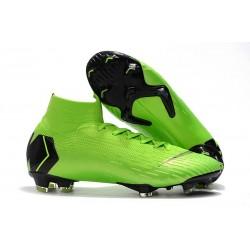 Nike Mercurial Superfly 6 Elite FG Scarpa Uomo - Verde Nergo
