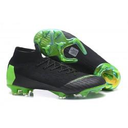 Nike Mercurial Superfly 6 Elite FG Scarpa Uomo - Nero Verde