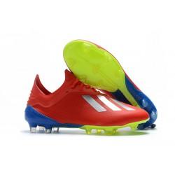 adidas X 18.1 FG Scarpa da Calcio - Rosso Argento