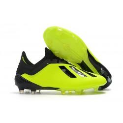 adidas X 18.1 FG Scarpa da Calcio - Giallo Nero